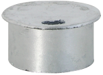 Abdeckkappe für Bodenhülse ohne Verschluss Ø 76 mm