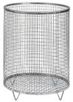 Abfallbehälter -Nr. 1- 63 Liter aus Drahtgitter (Farbe: verzinkt ohne Farbe (Art.Nr.: 19321))
