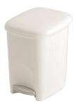 Abfallbeh&auml;lter -P-Bins 14- 5 oder 16 Liter aus Kunststoff, mit Pedal (Volumen/Ma&szlig;e (HxBxT):  <b>5 Liter</b>/280x185x185mm (Art.Nr.: 17436))