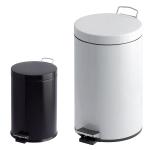 Abfallbeh&auml;lter -P-Bins 26- 3, 5, 12, 20 oder 30 Liter aus Stahl, mit Pedal (Volumen/Ma&szlig;e (&Oslash;xH&ouml;he)/Farbe:  <b>3 Liter</b>/170x260mm<br>wei&szlig; (Art.Nr.: 17230))