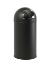 Abfallbehälter -Push Bin- 40 Liter aus Stahl, feuerfest (Farbe: blau (Art.Nr.: 16448))