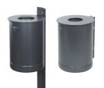 Abfallbehälter -State Alabama-, vollwandig, 35 und 50 Liter
