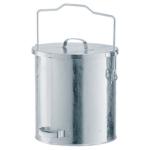 Abfallbeh&auml;lter -State Denver- mit Gleitdeckel und Tragegriff - 20, 30 oder 40 Liter (Volumen/&Oslash;xH:  <b>20 Liter</b>/295x340mm  (Art.Nr.: 10333))