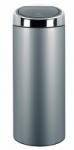 Abfallbehälter -Touch Bin- Brabantia, 30 Liter aus Edelstahl, mit Touchdeckel (Material/Farbe: Edelstahl, grau beschichtet (Art.Nr.: 16196))