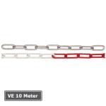 Absperrkette aus Stahl, VE 10 Meter, &Oslash; 5 mm, geschwei&szlig;t (Farbe/Verpackungseinheit:  <b>ohne Farbe</b>/VE 10 Meter (Art.Nr.: 430.50))