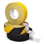 Antirutsch-Bodenmarkierungsband -WT-5414-, Breite 25 mm, L&auml;nge 6 oder 18 m, anpassungsf&auml;hig (L&auml;nge/Farbe: 6m/ <b>schwarz</b> (Art.Nr.: 23546))
