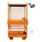 Arbeitsbühne -A1073- mit Kranösen und Werkzeugablage, Nutzlast 250 kg