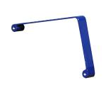 Armlehne für Sitzbänke -Level- aus Stahl, nach RAL-Farbe beschichtet (Farbe: RAL3003 rubinrot (Art.Nr.: 20880))