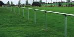 Barrieren-System &Oslash; 60 mm (Element/Gesamtl&auml;nge: Alu-Eckst&uuml;ck<br>inkl. Schrauben u. Muttern (Art.Nr.: 419.08))
