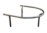 Baumschutzbügel -Linos-  Ø 48 mm aus Stahlrohr, zum Einbetonieren (Farbe: ohne Farbe (Art.Nr.: 25459))