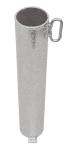 Bodenhülse Ø 60 mm, vorgerüstet für Vorhängeschloss