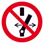 Elektrokennzeichnung / Verbotsschild, Schalten verboten (Maße Ø/Material: 100mm/Folie,selbstklebend (Art.Nr.: 21.a6253))