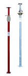 Euro Schalungsst&uuml;tze Klasse B / D, nach DIN EN 1065, Innen- oder Au&szlig;engewinde, verzinkt oder lackiert, verschiedene Auszugsl&auml;ngen (Auszugsl&auml;nge/Material/Gewinde:  <b>1540-2500mm</b>/lackiert<br>Innengewinde (Art.Nr.: 11829l))