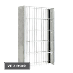 Gabionen-Pfosten -Saphir-, VE 2 St&uuml;ck, aus Stahl (Befestigung/f&uuml;r Gitterh&ouml;he/Pfostengesamtl&auml;nge/Verpackungseinheit: zum Aufd&uuml;beln/ <b>630mm</b>/645mm<br>VE 2 Stk. (Art.Nr.: 24567))