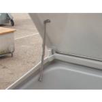 Hochstellschere für Streugutbehälter -CEMO- 100 bis 700 Liter