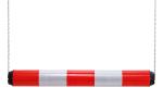 Höhenbegrenzer -Switch- aus Kunststoff, Breite 950 mm, Ø 100 mm, einteilig (Farbe: rot-weiß reflektierend (Art.Nr.: 18806))