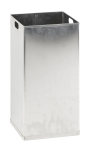 Innenbehälter für Abfallbehälter-Serie -Carro- 55 oder 110 Liter aus Aluminium, feuerfest (Modell: für 55 Liter (Art.Nr.: 16719))