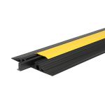 Kabelbrücke Typ 425 - 4 Kabelkanäle, 2 à 25 mm + 2 à 25 x 38 mm, mit herausnehmbarem Mittelsteg (Modell: mit schwarzem Deckel (Art.Nr.: 35191))