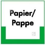 Kennzeichnungsschild Papier / Pappe (Maße (BxH)/Material: 100x100mm/Folie,selbstklebend/ umweltschonend (Art.Nr.: 35.6749))