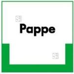 Kennzeichnungsschild Pappe (Maße (BxH)/Material: 200x200mm/Kunststoff, witterungsbeständig (Art.Nr.: 43.6746))