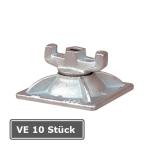 Kombi-Platte 8F 12 / 12, VE 10 Stück, für Ankerstab 15 mm