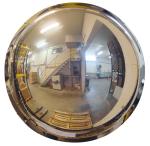 Kugelspiegel Volum aus Polymir®, 1 / 2 Kugel, 3 Blickrichtungen (Durchmesser/max. Beobachtungsabstand/Gewicht: Ø 570mm/8m/6 kg (Art.Nr.: 32792))