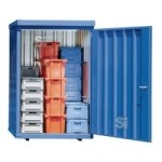 Magazinbox -STMB 8- 1420 x 1490 x 2195 mm mit Bodenplatte