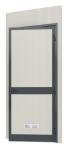 Modulares Raumsystem -Master-, Paneel mit Tür (Anschlag: DIN-links (Art.Nr.: 36842))