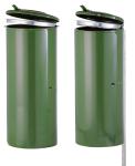 Müllsackständer -State Springfield- für Rastplätze, 110Liter, zum Einbetonieren oder Aufschrauben