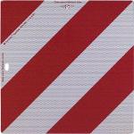Nachtparktafeln mit Bauartgenehmigung nach DIN 67520 und DIN 6171 (Maße (BxH): 423x423mm, Fahrzeug vorn o. hinten, starr (Art.Nr.: 57.2365))