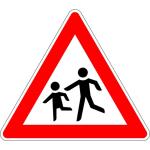 PREMARK Straßenmarkierung aus Thermoplastik - dreieckige VZ, gemäß StVO / VBG