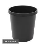 Papierkorb -P-Bins 25-, VE 5 St&uuml;ck, 18 Liter aus Kunststoff (Farbe/Verpackungseinheit:  <b>rot</b>/VE 5 Stk. (Art.Nr.: 17510))