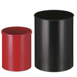 Papierkorb -P-Bins 30- 15 oder 30 Liter aus Stahl (Volumen/Ma&szlig;e (&Oslash; x H&ouml;he)/Farbe:  <b>15 Liter</b>/243x309mm<br>aluminium (Art.Nr.: 17554))