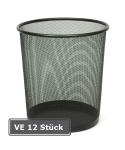 Papierkorb -P-Bins 43-, VE 12 Stück, 19 Liter aus Stahl