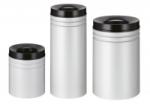 Papierkorb -P-Bins 7- 25, 50 oder 80 Liter aus Stahl, selbstl&ouml;schend (Volumen/Ma&szlig;e (&Oslash;xH&ouml;he):  <b>25 Liter</b>/300x390mm (Art.Nr.: 17687))