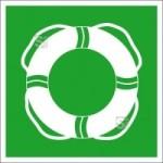 Rettungsschild Öffentliche Rettungsausrüstung (Material: Folie, selbstklebend (Art.Nr.: 21.a3065))