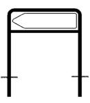 Rohrrahmen Typ 10, inkl. Erdanker (Maße (HxB): 250x1000mm (Art.Nr.: az81551))