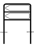 Rohrrahmen Typ 11, inkl. Erdanker (Maße (HxB): 2x333x1250mm (Art.Nr.: a300551))