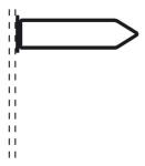 Rohrrahmen Typ 20, inkl. Rohrschelle (Ma&szlig;e (HxB) /&Oslash; Rahmenrohr (RR)/f&uuml;r Rohrschelle (RS):  <b>250x1000mm</b><br>&Oslash; RR 26,9/1,75mm<br>f&uuml;r RS &Oslash; 60mm (Art.Nr.: afs81261))
