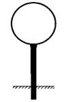 Rohrrahmen Typ 3, inkl. Erdanker (Modell/Bodenfreiheit (BF)/L&auml;nge (L):  <b>&Oslash; 600mm</b>/BF 600mm/L 1350mm (Art.Nr.: ae17261))