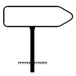 Rohrrahmen Typ 9, inkl. Erdanker (Ma&szlig;e (HxB)/&Oslash; Standrohr (SR)/&Oslash; Rahmenrohr (RR):  <b>250x1000mm</b><br>&Oslash; SR 60,3/2,0mm<br>&Oslash; RR 26,9/1,75mm (Art.Nr.: ae81261))