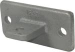 Rohrverbinder -Gelenkfußhalter-, aus Temperguss, TÜV-geprüft