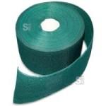 Sichtschutzstreifen -ZaunTex- 70 m-Rolle für Doppelstabmatten -MIC- und -MAC- (Farbe: RAL 6005 moosgrün (Art.Nr.: 24535))