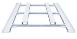 Stapelpalette für Absperrgitter -Event-, für 50 Gitter