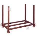 Stapelpalette für Fußplatten, in verschiedenen Ausführungen (Ausführung: verzinkt (Art.Nr.: 50380v))