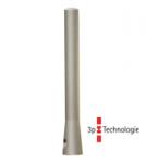 Stilpoller -Naxos- Ø 85 mm aus Aluguss, zum Einbetonieren, feststehend oder herausnehmbar mit 3p-Technologie (Sollbruchstelle)