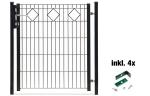 Torset für Zaunpakete -Valencia-, Lichte Weite 960 mm