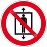 Verbotsschild, Personenbeförderung verboten (Maße(Ø)/Material: 100mm/Folie,selbstklebend (Art.Nr.: 21.a6170))