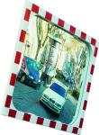Verkehrsspiegel -DIAMOND- , SEKURIT-Sicherheitsglas, wahlweise beheizt (Maße (BxH)/Beobachterabstand/Heizung: 600x400mm/6m/ohne Heizung (Art.Nr.: 11335))