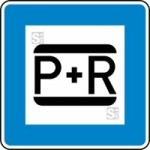 Verkehrszeichen StVO, Parken und Reisen Nr. 316 (Ma&szlig;e/Folie/Form:  <b>420x420mm</b>/RA1/Flachform 2mm (Art.Nr.: 316-111))